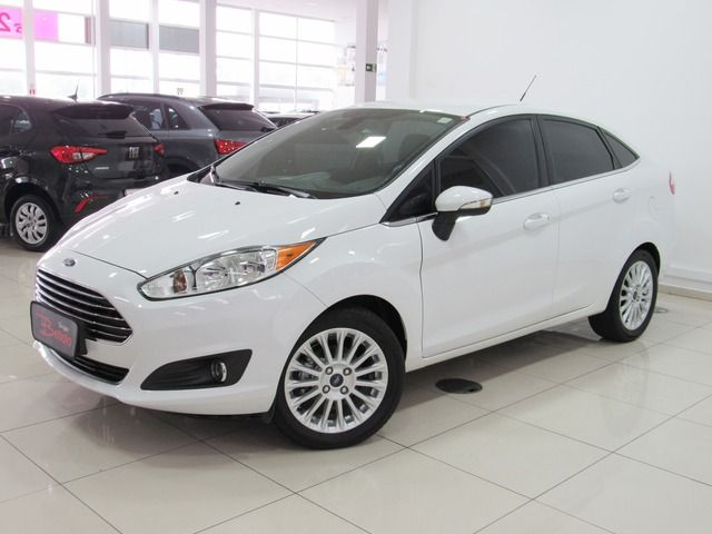 new fiesta sedan titanium plus powershift 1.6 sigma tivct powershift 2015 caxias do sul