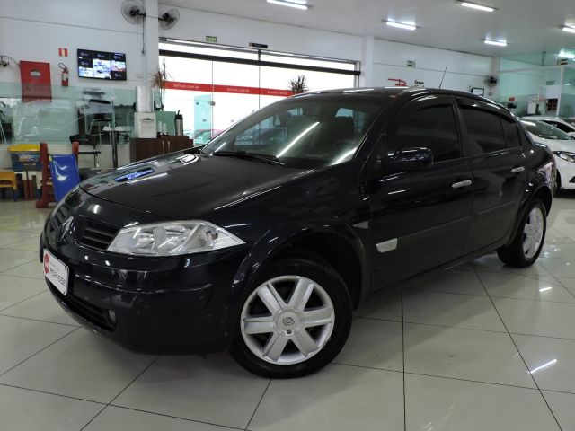 megane sedan dynamique 1.6 16v hi flex 2009 caxias do sul