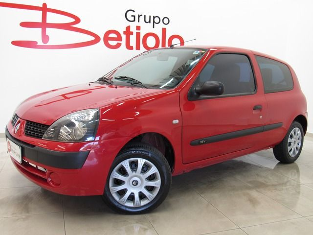 clio authentique 1.0 16v 2004 caxias do sul